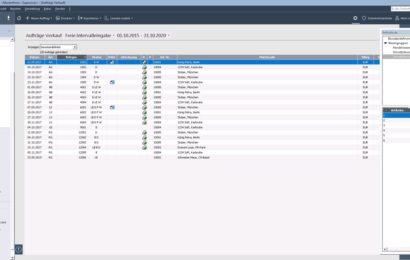 Screenshot Lexware Warenwirtschaft